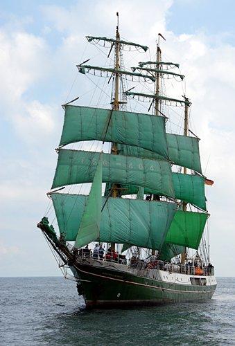 Alexander von Humboldt, Volker Gries, Hanse Sail Rostock 2011 , 08/2011