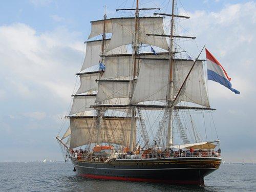 Stad Amsterdam, Volker Gries, Hanse Sail Rostock 2011 , 08/2011