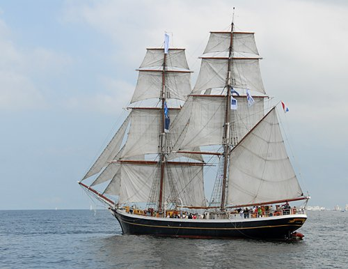 Morgenster, Volker Gries, Hanse Sail Rostock 2011 , 08/2011