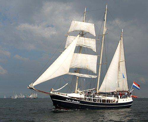 Pedro Doncker, Volker Gries, Hanse Sail Rostock 2011 , 08/2011