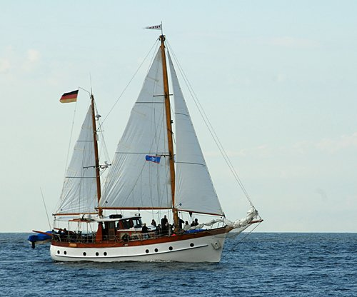 Patria, Volker Gries, Hanse Sail Rostock 2011 , 08/2011