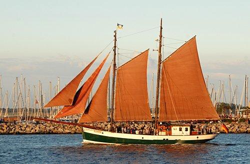 Jachara, Volker Gries, Hanse Sail Rostock 2011 , 08/2011