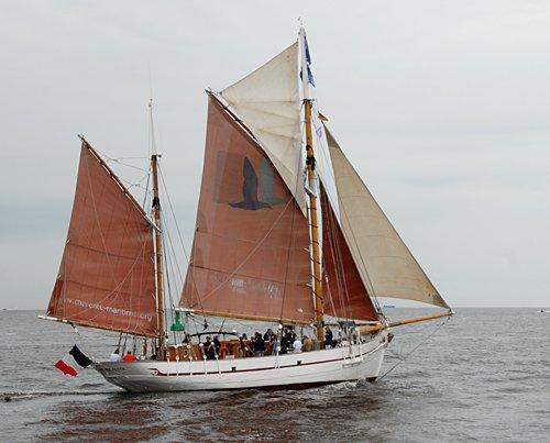 Notre Dame des Flots, Volker Gries, Hanse Sail Rostock 2011 , 08/2011