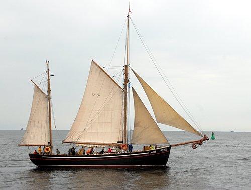 Hansine, Volker Gries, Hanse Sail Rostock 2011 , 08/2011
