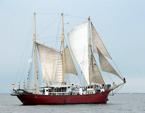 Sunthorice, Volker Gries, Hanse Sail Rostock 2011 , 08/2011