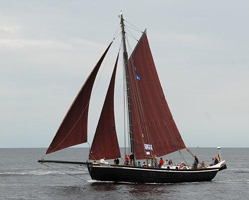 Ernestine, Volker Gries, Hanse Sail Rostock 2011 , 08/2011