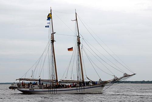 Tre Hjärtan, Volker Gries, Hanse Sail Rostock 2011 , 08/2011
