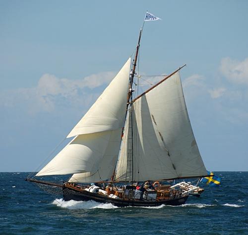 Hoppet av Brantevik, Volker Gries, Hanse Sail Rostock 2012 , 08/2012