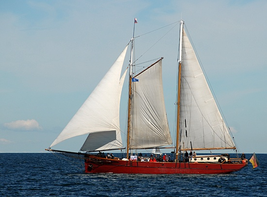 Ethel von Brixham, Volker Gries, Hanse Sail Rostock 2012 , 08/2012
