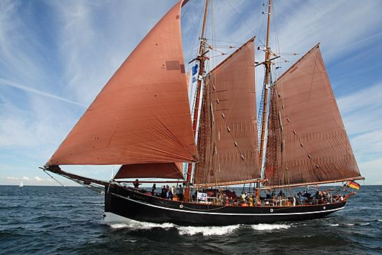 Atalanta, Volker Gries, Hanse Sail Rostock 2012 , 08/2012