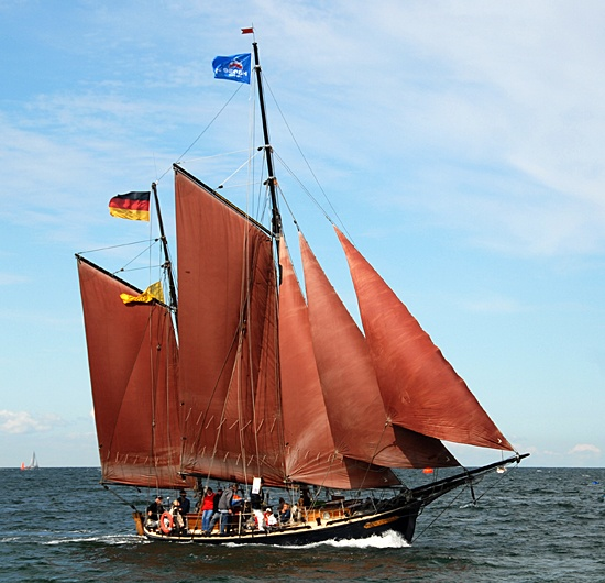 Concordia, Volker Gries, Hanse Sail Rostock 2012 , 08/2012