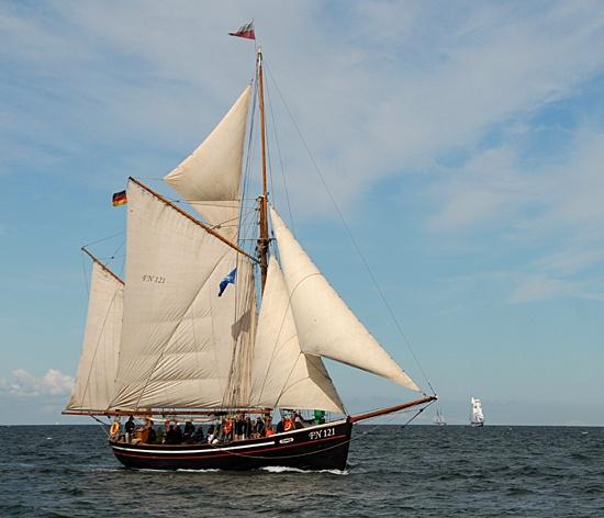 Hansine, Volker Gries, Hanse Sail Rostock 2012 , 08/2012
