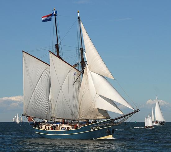 Luciana, Volker Gries, Hanse Sail Rostock 2012 , 08/2012