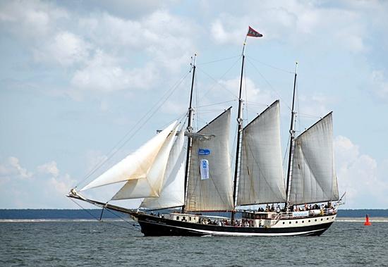 Regina Maris, Volker Gries, Hanse Sail Rostock 2012 , 08/2012