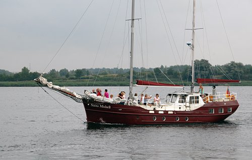 Santa Mishell, Volker Gries, Hanse Sail Rostock 2013 , 08/2013