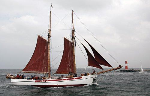 Nordlyset II, Volker Gries, Hanse Sail Rostock 2013 , 08/2013