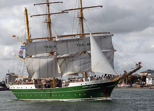Alexander von Humboldt II, Volker Gries, Hanse Sail Rostock 2013 , 08/2013
