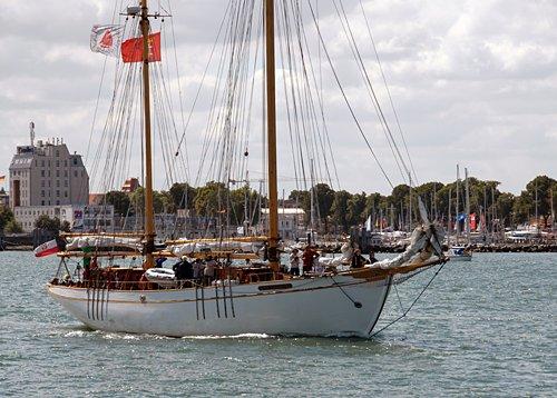 General Zaruski, Volker Gries, Hanse Sail Rostock 2013 , 08/2013