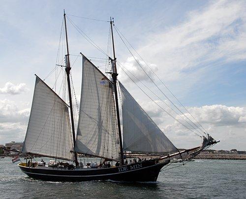 Ide Min, Volker Gries, Hanse Sail Rostock 2013 , 08/2013