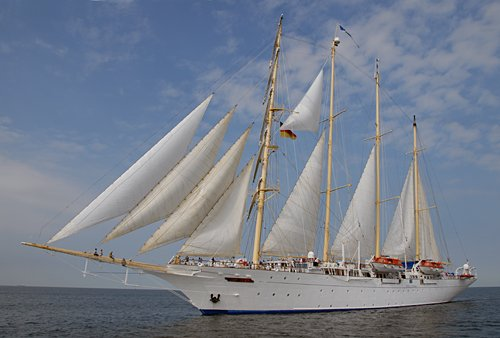 Star Flyer, Volker Gries, Hanse Sail Rostock 2013 , 08/2013