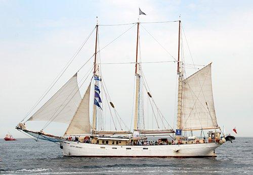 Kapitan Borchardt, Volker Gries, Hanse Sail Rostock 2013 , 08/2013