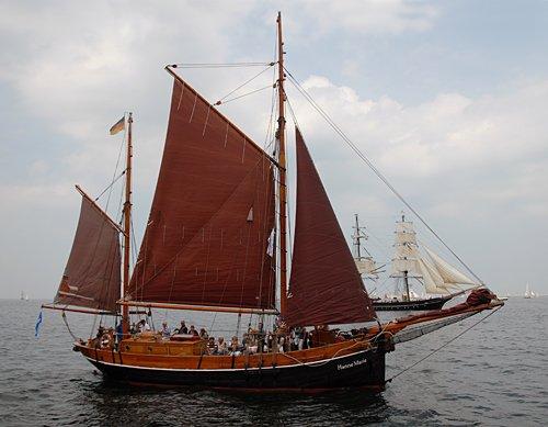 Hanne-Marie, Volker Gries, Hanse Sail Rostock 2013 , 08/2013