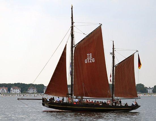 Astarte HF 244, Volker Gries, Hanse Sail Rostock 2013 , 08/2013