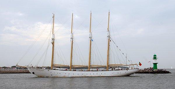 Santa Maria Manuela, Volker Gries, Hanse Sail Rostock 2014 , 08/2014