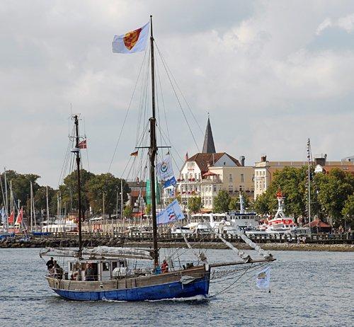 Sleipner, Volker Gries, Hanse Sail Rostock 2014 , 08/2014