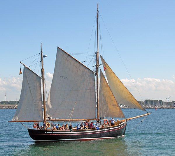 Hansine, Volker Gries, Hanse Sail Rostock 2014 , 08/2014