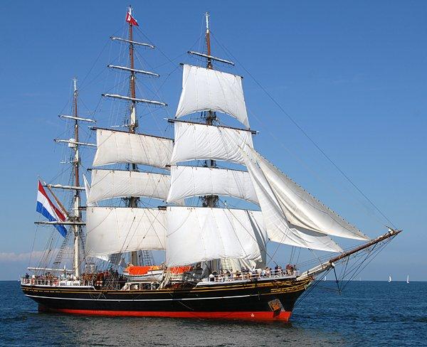 Stad Amsterdam, Volker Gries, Hanse Sail Rostock 2014 , 08/2014