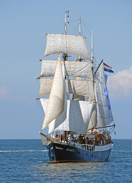 Atlantis, Volker Gries, Hanse Sail Rostock 2014 , 08/2014