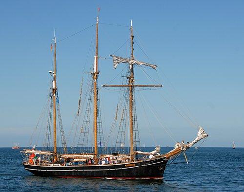 Albatros, Volker Gries, Hanse Sail Rostock 2014 , 08/2014