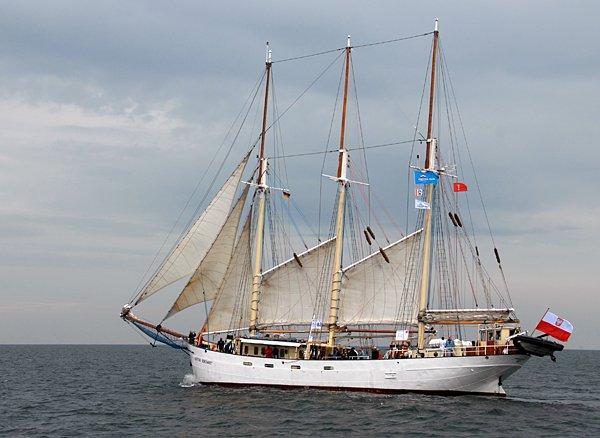Kapitan Borchardt, Volker Gries, Hanse Sail Rostock 2014 , 08/2014