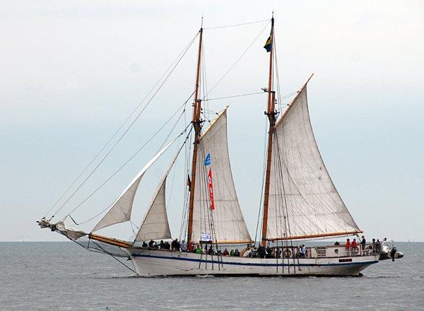 Tre Hjärtan, Volker Gries, Hanse Sail Rostock 2014 , 08/2014