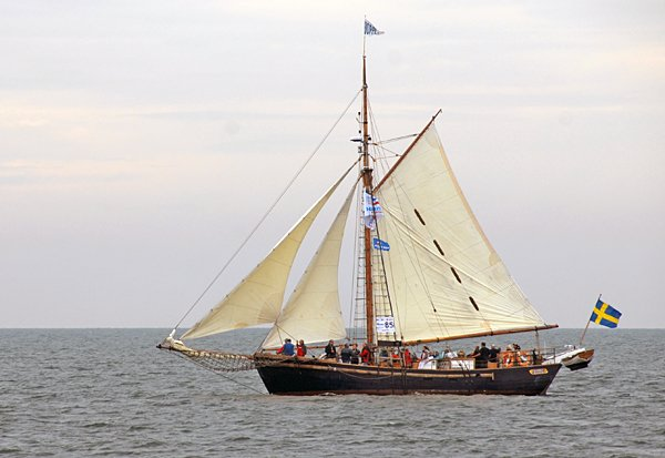 Hoppet av Brantevik, Volker Gries, Hanse Sail Rostock 2014 , 08/2014