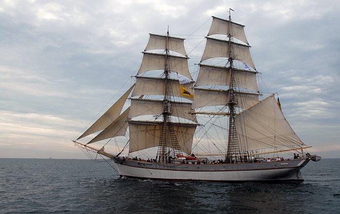Tre Kronor af Stockholm, Volker Gries, Hanse Sail Rostock 2014 , 08/2014