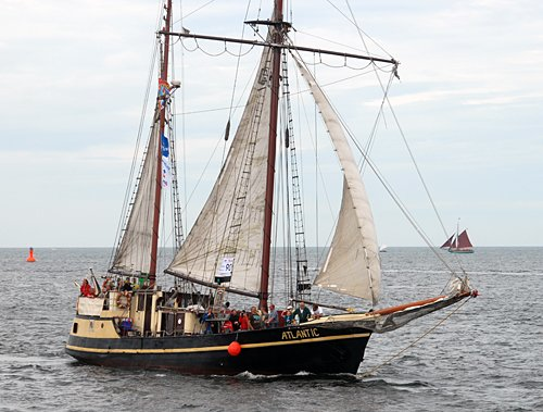 Atlantic, Volker Gries, Hanse Sail Rostock 2014 , 08/2014