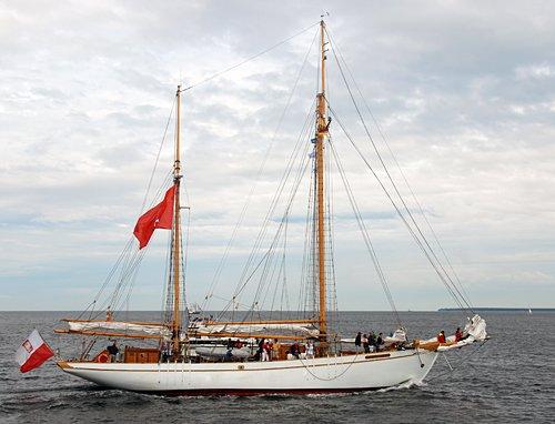 General Zaruski, Volker Gries, Hanse Sail Rostock 2014 , 08/2014