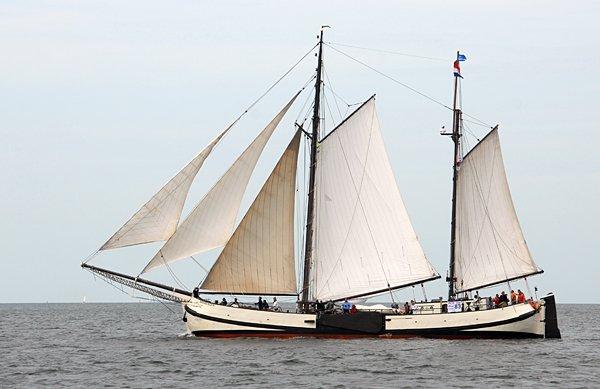 Engelina, Volker Gries, Hanse Sail Rostock 2014 , 08/2014