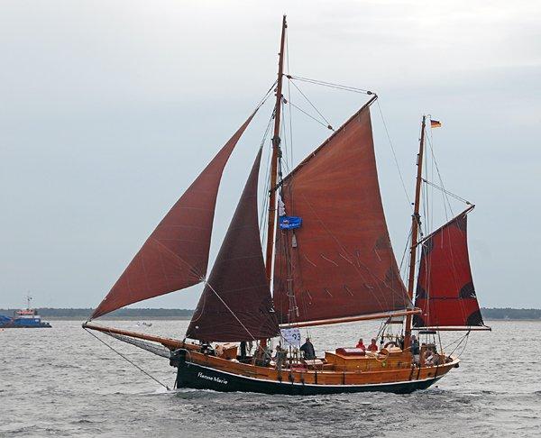 Hanne-Marie, Volker Gries, Hanse Sail Rostock 2014 , 08/2014