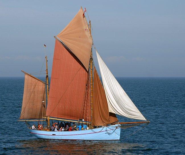 Bodil, Volker Gries, Hanse Sail Rostock 2015 , 08/2015