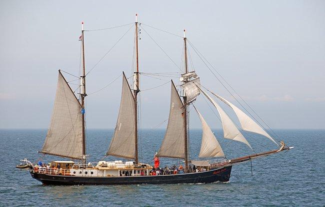 Hendrika Bartelds, Volker Gries, Hanse Sail Rostock 2015 , 08/2015