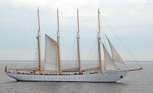 Santa Maria Manuela, Volker Gries, Hanse Sail Rostock 2015 , 08/2015