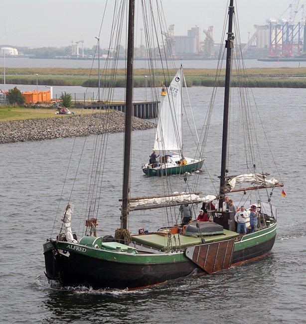 Alfred, Volker Gries, Hanse Sail Rostock 2015 , 08/2015