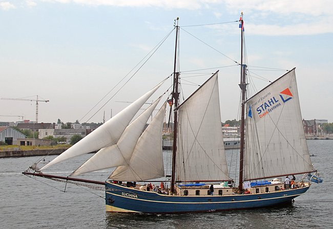 Luciana, Volker Gries, Hanse Sail Rostock 2015 , 08/2015