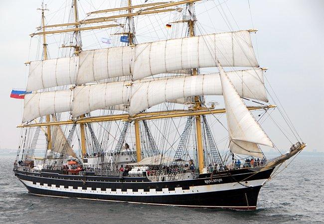 Kruzenshtern, Volker Gries, Hanse Sail Rostock 2016 , 08/2016