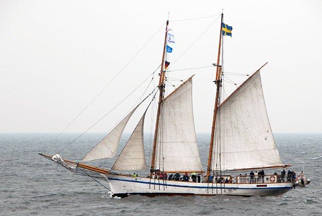 Tre Hjärtan, Volker Gries, Hanse Sail Rostock 2016 , 08/2016