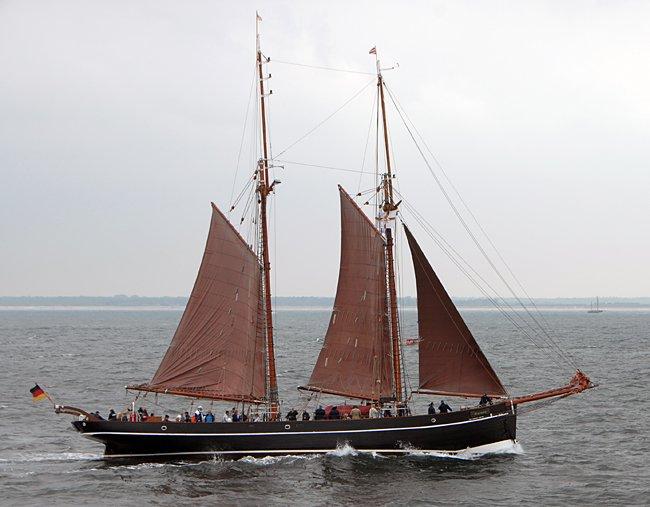 Atalanta, Volker Gries, Hanse Sail Rostock 2016 , 08/2016