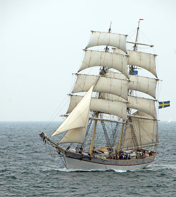 Tre Kronor af Stockholm, Volker Gries, Hanse Sail Rostock 2016 , 08/2016